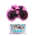 cheap Bakeware-Silicone Bicycle Bike Shape Cake Mold Cake Decorating Tools Chocolate Moulds