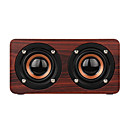 cheap Speakers-W55 Bluetooth Speaker Mini Style Bluetooth Loud Speaker Micro USB Brown