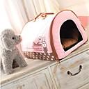 abordables Ropa para Perro-Perros / Gatos Camas Mascotas Colchonetas y Cojines A Lunares / Palabra / Personajes Templado Rojo / Azul / Rosa Para mascotas
