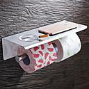 tanie Uchwyty na papier toaletowy-Uchwyty na Papier Toaletowy Nowoczesny Stal nierdzewna 1 szt. - Kąpiel w hotelu