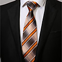 זול אביזרים לגברים-עניבת צווארון - פסים יום יומי בגדי ריקוד גברים