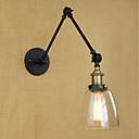 זול תאורה מודרנית-סגנון קטן רטרו\וינטאג' / קאנטרי / מסורתי / קלסי אורות הזרוע נדנדה חדר אוכל / משרד מתכת אור קיר 110-120V / 220-240V 40W