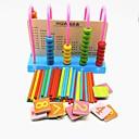 baratos Brinquedos Ábaco-Escola Projetado especial Família De madeira Composto Madeira-Plástico Novo Design Peças Crianças Dom