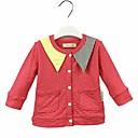 זול ג'קטים ומעילים לבנות-חליפה ובלייזר כותנה יומי אחיד בנות חמוד פוקסיה