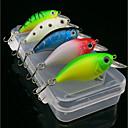 cheap Lighting Accessories-5 pcs Fishing Lures Minnow Plastic Sea Fishing / Fly Fishing / Bait Casting / Ice Fishing / Spinning / Jigging Fishing / Freshwater Fishing / Carp Fishing
