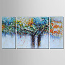 cheap Abstract Paintings-Oil Painting Hand Painted - Abstract Landscape Comtemporary Modern Canvas