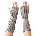 preiswerte Modische Uhren-Unisex Büro Ellenbogen Länge Fingerlos Handschuhe