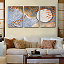 رخيصةأون مطبوعات-قماش طباعة ثلاث لوحات كنفا عمودي الطباعة جدار ديكور تصميم ديكور المنزل