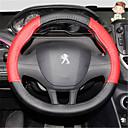 olcso Kormányvédők-Kormányvédők 38 cm Fekete / Rubin Kompatibilitás Peugeot 308 / 2008 / 308S Minden évjárat