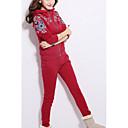 ieftine Seturi de perne-Pentru femei Chinoiserie Set - Geometric, Pantaloni