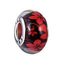 זול חרוזים-תכשיטים DIY 10 יח חרוזים זיגוג צבעוני סגסוגת סגול ורוד פנינה אדום כחול בהיר כחול ים אובלי חָרוּז 1 cm עשה זאת בעצמך שרשראות צמידים