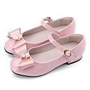 cheap Women's Sandals-Girls' Shoes Patent Leather Spring Comfort / Flower Girl Shoes Flats for Black / Blue / Pink