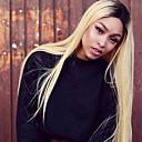 voordelige Ombrekleurige haarweaves-4 bundels Peruaans haar Recht 10A Onbehandeld haar Ombre Menselijk haar weeft Extensions van echt haar / Recht