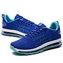 ieftine Pantofi Sport de Bărbați-Bărbați Tălpi de iluminat Tul / PU Primăvară / Vară Confortabili Adidași de Atletism Alergare / Drumeții / Bicilcletă Bloc Culoare Negru / Albastru / Negru / Roșu / Plimbare