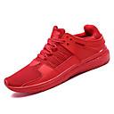 זול נעלי אוקספורד לגברים-בגדי ריקוד גברים טול אביב / סתיו נוחות נעלי אתלטיקה ריצה לבן / שחור / אדום