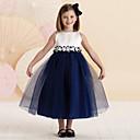 tanie Sukienki dla dziewczynek-Dzieci Dla dziewczynek Na co dzień Patchwork Bez rękawów Sukienka / Bawełna / Urocza