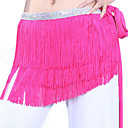 cheap Dance Accessories-Belly Dance Ordinary Women's Training Polyester Belt Tassel Hip Scarf