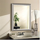 cheap Prints-Mirror Contemporary Tempered Glass 1 pc - Mirror Shower Accessories / Brushed