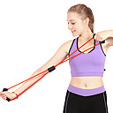 cheap Fitness Gear & Accessories-Resistance Band / Exercise Tube With Rubber Strength Training, Pull Physical Therapy, Resistance Training For Yoga / Fitness / Gym