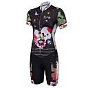 cheap Cycling Jerseys-Malciklo Women's Short Sleeve Triathlon Tri Suit - Black British Bike Anatomic Design, Breathable, Sweat-wicking Polyester / Spandex /