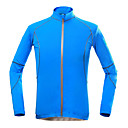 cheap Cycling Jerseys-KORAMAN Men's Cycling Jacket Bike Top Quick Dry, Ultraviolet Resistant, Breathable Holiday, Classic, Honeymoon Polyester Blue Bike Wear / Stretchy