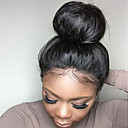 cheap Clutches & Evening Bags-Human Hair Glueless Lace Front / Lace Front Wig Brazilian Hair Straight Wig With Baby Hair 130% Natural Hairline / African American Wig / 100% Virgin Human Hair Lace Wig