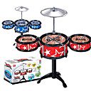 cheap Toy Instruments-Drum Set Classic Boys' Girls' Toy Gift 1 pcs