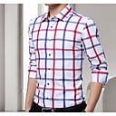 cheap Security Accessories-Men's Cotton Shirt - Striped