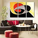 baratos Impressões-Tela de impressão Modern, 3 Painéis Tela de pintura Vertical Estampado Decoração de Parede Decoração para casa