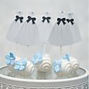 זול קישוטים לעוגה-קישוטים לעוגה רומנטיקה חתונה לב עבודת יד חתונה Party עם ריינסטון 1 OPP