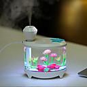 זול עגילים אופנתיים-1pc LED לילה אור נתב USB עמיד במים / עם יציאת USB / Humidified