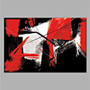 cheap Abstract Paintings-Oil Painting Hand Painted - Abstract Modern Canvas