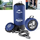 cheap Kigurumi Pajamas-Shower Water Bag Handshower Included Portable Travel Solar Powered Shower PVC(PolyVinyl Chloride) ABS Camping / Hiking / Caving Naturehike Dark Blue Grey 1 pcs