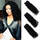 זול פיאות סינטטיות ללא כיסוי-3 חבילות שיער ברזיאלי גל עמוק שיער אנושי טווה שיער אדם שוזרת שיער אנושי 8 א תוספות שיער אדם