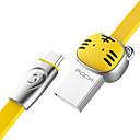 זול מטען כבלים ומתאמים-מיקרו USB תשלום מהיר כבל סמסונג / Huawei / LG ל 100 cm עבור סגסוגת אבץ