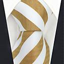זול טבעות לגברים-עניבת צווארון - פסים / קולור בלוק / סרוג מסיבה / עבודה בגדי ריקוד גברים