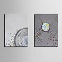 baratos Pinturas Abstratas-Pintura a Óleo Pintados à mão - Abstrato Paisagem Modern Tela de pintura