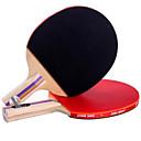 זול שולחן טניס-DHS® EF2 Ping Pang/מחבטי טניס שולחן גוּמִי ידית קצרה ידית ארוכה פצעונים