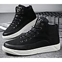 זול סניקרס לגברים-בגדי ריקוד גברים נעלי נוחות קנבס סתיו / חורף נעלי ספורט לבן / שחור / חאקי
