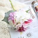 זול פרחים מלאכותיים-פרחים מלאכותיים 1 ענף כפרי / חתונה הורטנזיות פרחים לשולחן