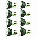 رخيصةأون سبوت لايتس LED-8PCS 5W 450lm E14 E26 / E27 LED ضوء سبوت 1 الخرز LED COB ديكور أبيض دافئ أبيض كول 220-240V