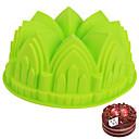 abordables Luz Ambiente LED-Herramientas para hornear Gel de Sílice Herramienta para hornear Pan / para la torta Moldes para pasteles 1pc