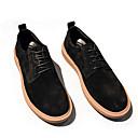 זול נעלי אוקספורד לגברים-בגדי ריקוד גברים עור חזיר סתיו / חורף נוחות נעלי אוקספורד שחור / חום בהיר