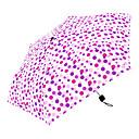 זול מטרייה/מטריית שמש-boy® בד בגדי ריקוד נשים סאני וגשום / עמיד לרוח מטריה מתקפלת