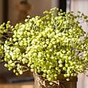זול פרחים מלאכותיים-פרחים מלאכותיים 5 ענף חתונה פרחי חתונה גיבסנית פרחים לשולחן