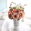 cheap Artificial Plants-Artificial Flowers 6 Branch European / Wedding Flowers Roses Tabletop Flower