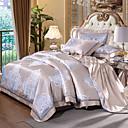 povoljno Cvjetni poplune-Poplun Cover Sets Luksuz Silk / Cotton Blend Jacquard 4 komadaBedding Sets / > 800
