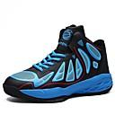 זול נעלי ספורט לגברים-בגדי ריקוד גברים PU אביב / סתיו נוחות נעלי אתלטיקה כדורסל שחור / אדום / כחול