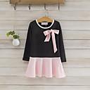 זול שמלות לבנות-שמלה כותנה אביב סתיו שרוול ארוך יומי טלאים הילדה של חמוד תלתן ורוד מסמיק