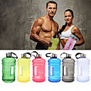cheap Cycling Gloves-Sports Water Bottle Multifunctional Casual / Fitness Plastics Sky Blue / Red / Green - 1 pcs